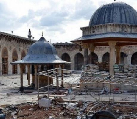 Россия выделила средства на восстановление древней мечети в Алеппо