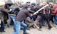 Драки на улицах Харькова